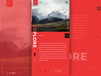 Travel Agency - Mobile Landing Page Template