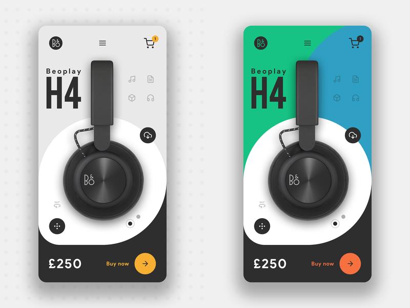 B&O App - Concept