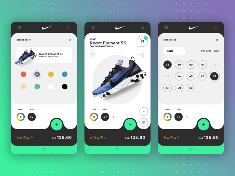Nike SNKRS App - Redesign