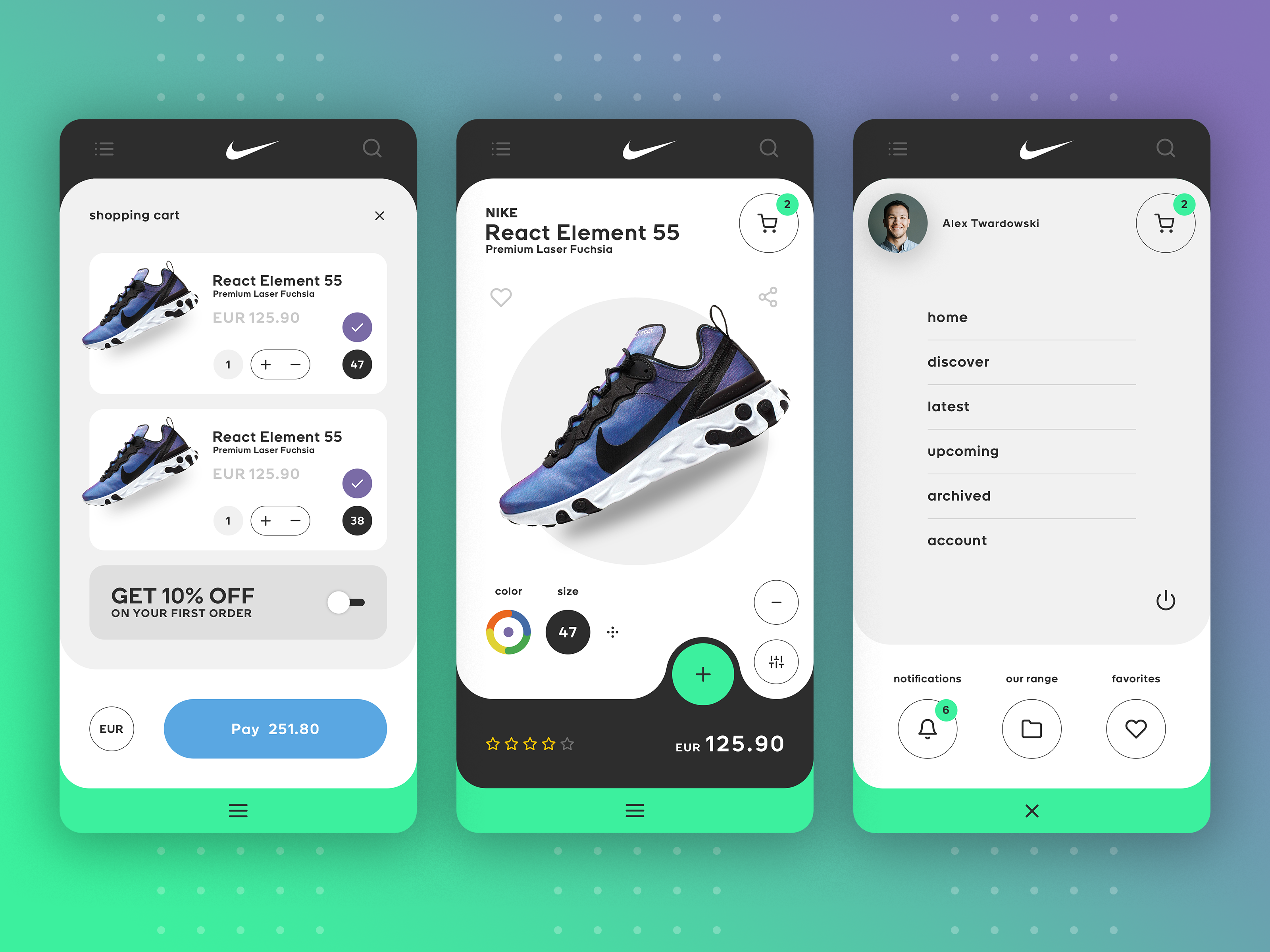 Nike SNKRS App - Redesign by BAHUR78