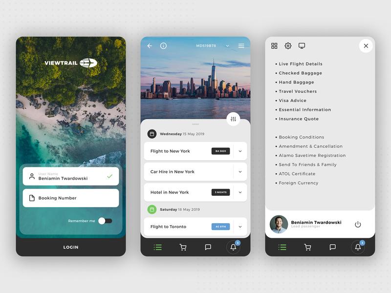 Viewtrail - Travel App