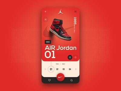 Nike Air Jordan | Trainers App - Concept