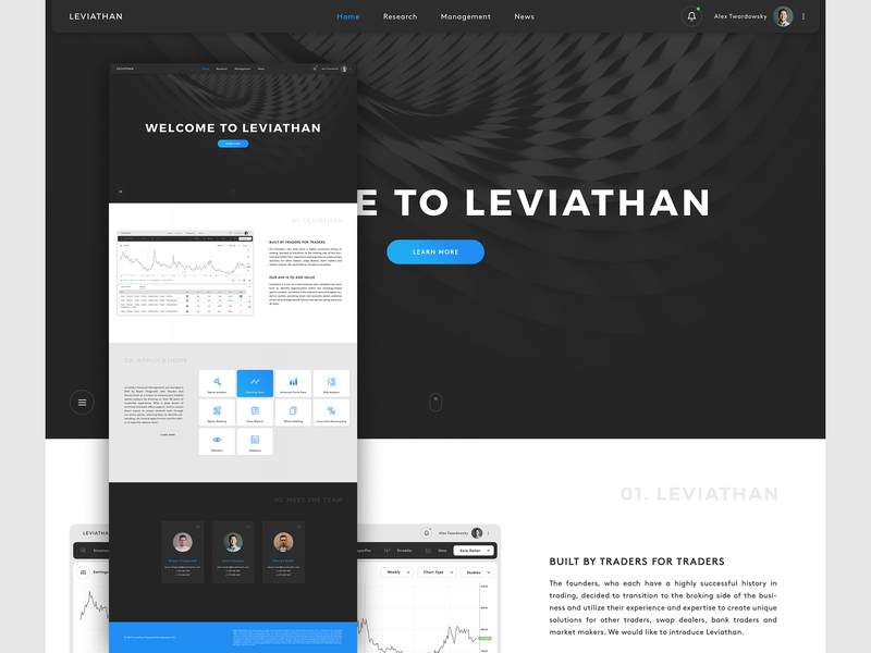 LeviathanFM - Website