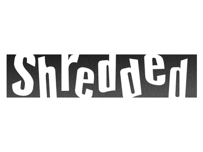 Shredded Logo