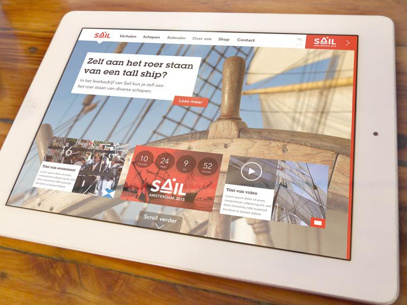 SAIL tablet tablet ios sketch responsive