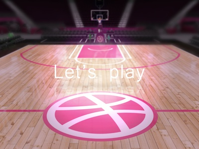 Let's play 3d court first shot