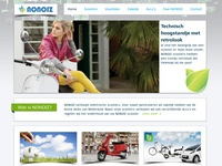 Homepage - Electric scooter company