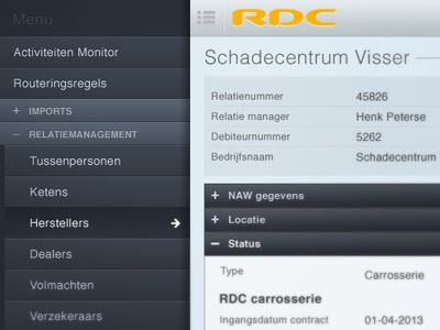 CRM Web App