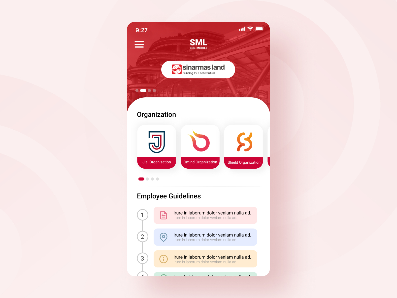 Executive Support System Mobile Apps By Sagara Technology On Dribbble