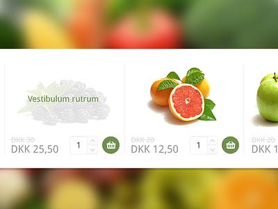 Shop - Add to cart web shop e-commerce cart webshop