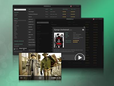 STREEEMvid - a streaming service streaming stream video ui movie movies
