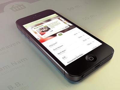 Deals on the fly mobile ios7 ios app deal deals restaurant dinner apple food