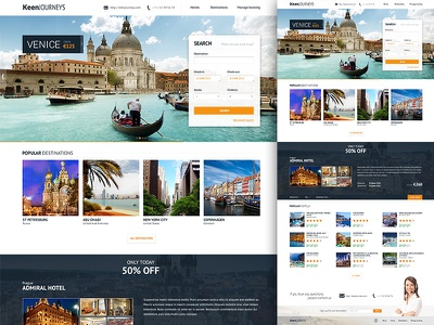 Travel/hotel booking web travel booking vacation journey holiday hotel hotels search