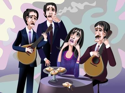 Fado singer and cream puffs 👩🎤 🎸 🥧