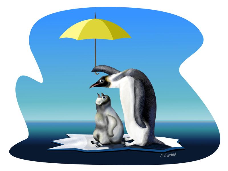 Save emperor penguins 🐧 digitalpainting flatillustration ecology artwork flat design vectorillustration vectorart ocean flat illustration digitalartwork digital artist digital illustration digital painting poster art digital art ipadproart illustration penguin