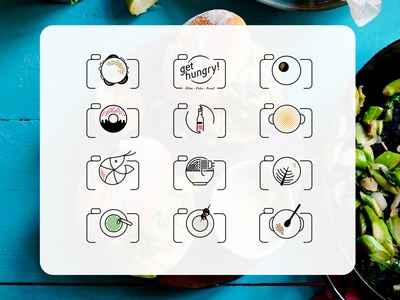 Get hungry icons