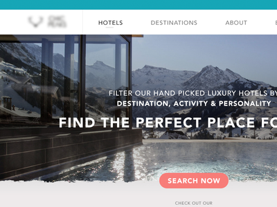 Travel Site - Home