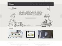 Relaunched Shape Design Studio Website