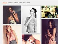 Web Design / Development for Photographer
