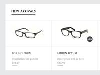 Glasses New Arrivals