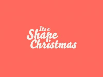 Dribble shapechristmas
