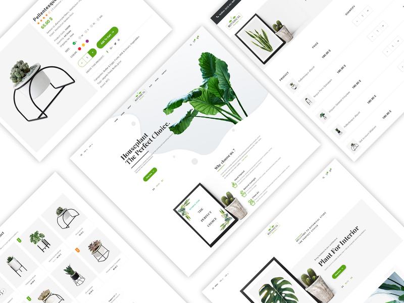 Botanical - HTML5 Ecommerce Template