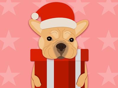 New Year 2021 illustration dog franch bulldog 2d art new year 2021