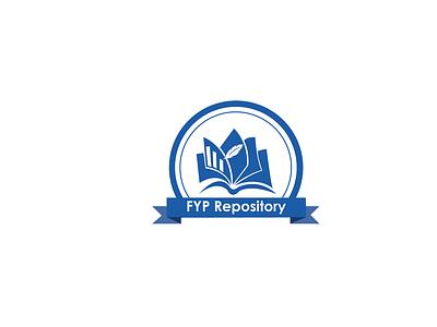 FYP Repository System Logo Design logomaker logomark icon minimal illustrator logofusion logoart minimalistic brand identity logodesign minimalist branding logo