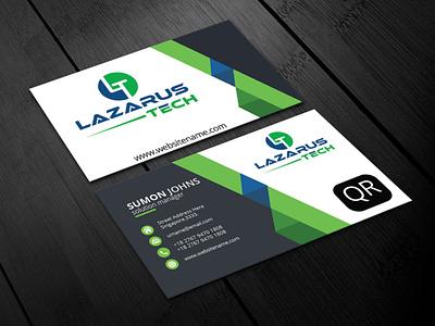 business card medical icon logo design company flayer business development flayer business card illustration graphic design branding
