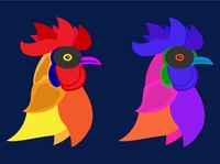 poultry vector art