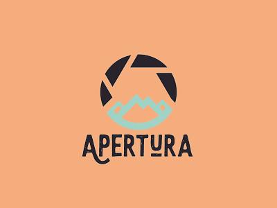 Apertura Logo Design design logo lettering illustration branding