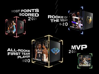 NBA Top Shot - Moments graphic design digital collectibles nfts nft topshot top shot nba top shot nba gaming art direction vancouver design dapper crypto dapperlabs blockchain