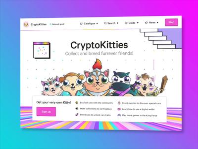 CryptoKitties: Website