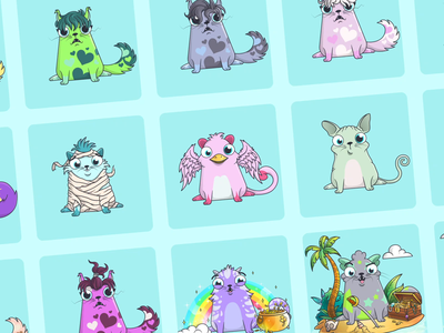 CryptoKitties: Purrstige Cats