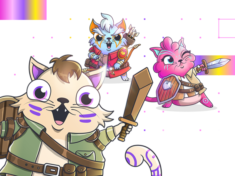 CryptoKitties: Fancy Cats - Page's Gang