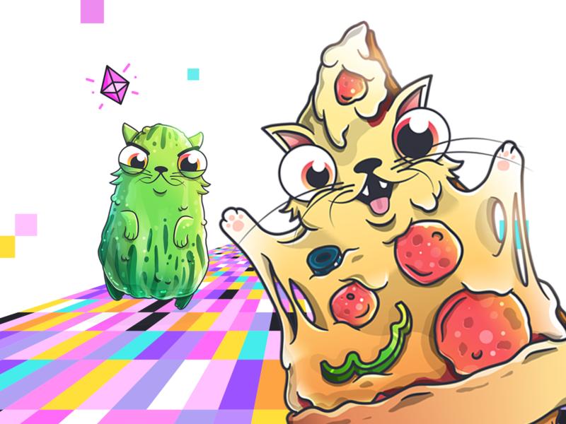 CryptoKitties: Fancy Cats - Food Cats
