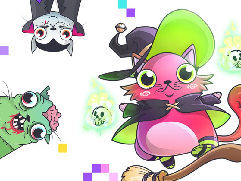CryptoKitties: Fancy Cats - Halloween