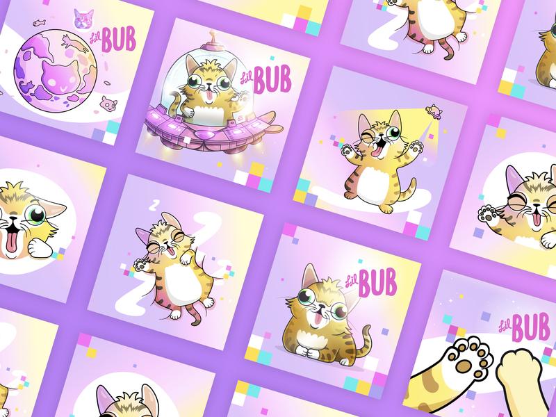 CryptoKitties: Lil BUB Campaign