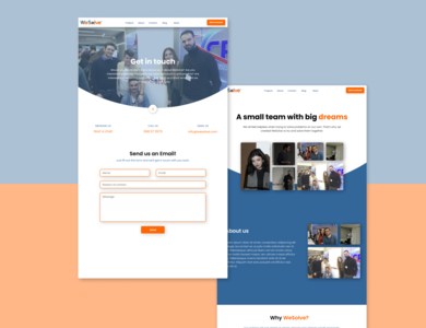 WeSolve Design Exploration