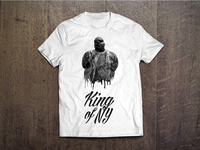 Notorious B.I.G. t-shirt design
