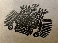 "El brujo ""The sorcerer"" Logo Application"