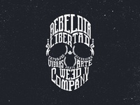 Skull Illustration for T-shirt