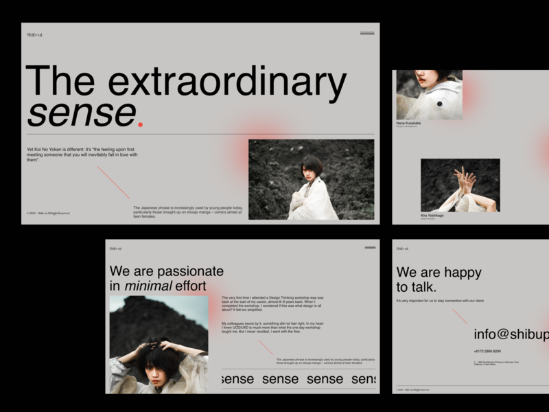 Shib+ui clean interface photography layout typogaphy ux web uiux uidesign graphicdesign design webdesign ui minimal
