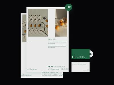 LIE Visuals 02 website webdesign uidesign typogaphy ui web graphic design poster layout serif visuals visual exploration editorial editorial design branding concept photography graphicdesign design minimal