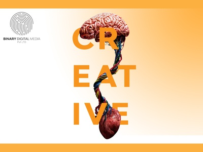 Creativity is an aesthetic connection between brain and heart