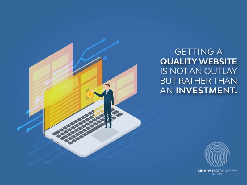 Web Design and Development Quality does matter