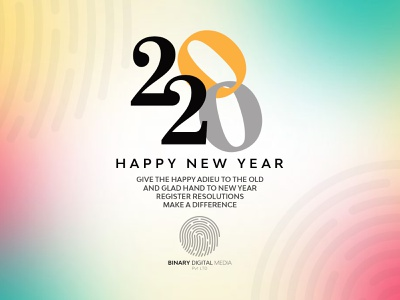 Wish You Happy New year To Dribble World software company socialmediamarketing socialmedia website digitalpakistan digitalmarketing branding agency branding binarymedia.pk happynewyear happynewyear2020
