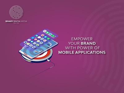 Just Feel the Power of Mobile Application mobileappdesign iosdevelopment androiddevelopment mobileappdevelopment mobileapp appdevelopment digitalpakistan website digitalmarketing branding agency binarymedia.pk