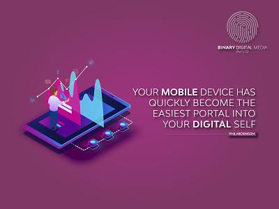 Your Mobile device mobileappdesign binarymedia iosdevelopment androiddevelopment mobileappdevelopment mobileapp