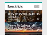 Recent Articles